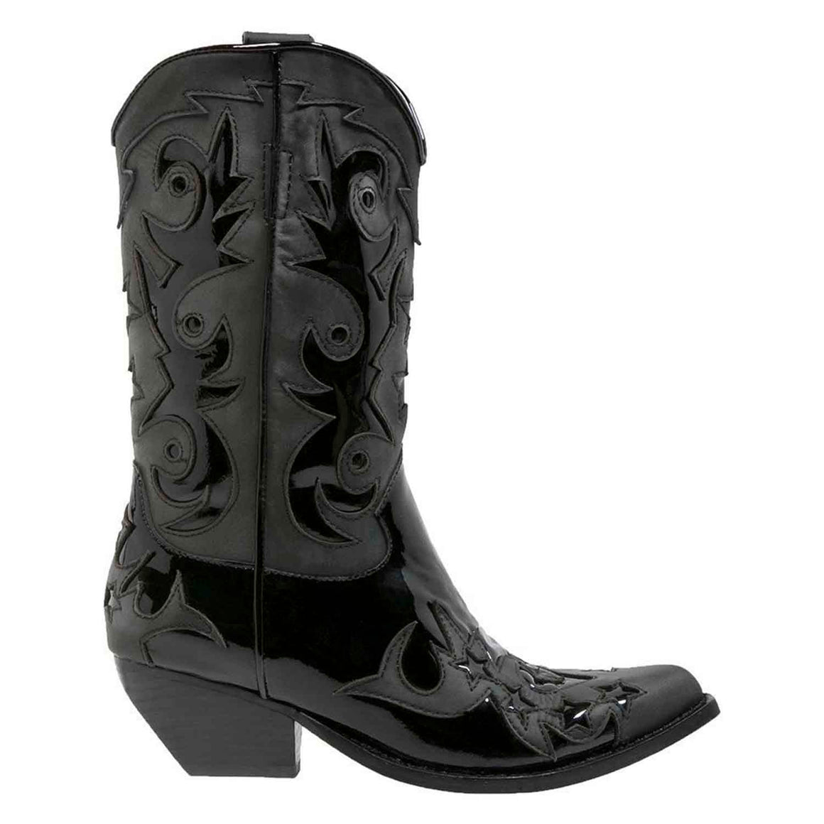 Jeffrey Campbell DOLLYLAND BLACK BOOTS