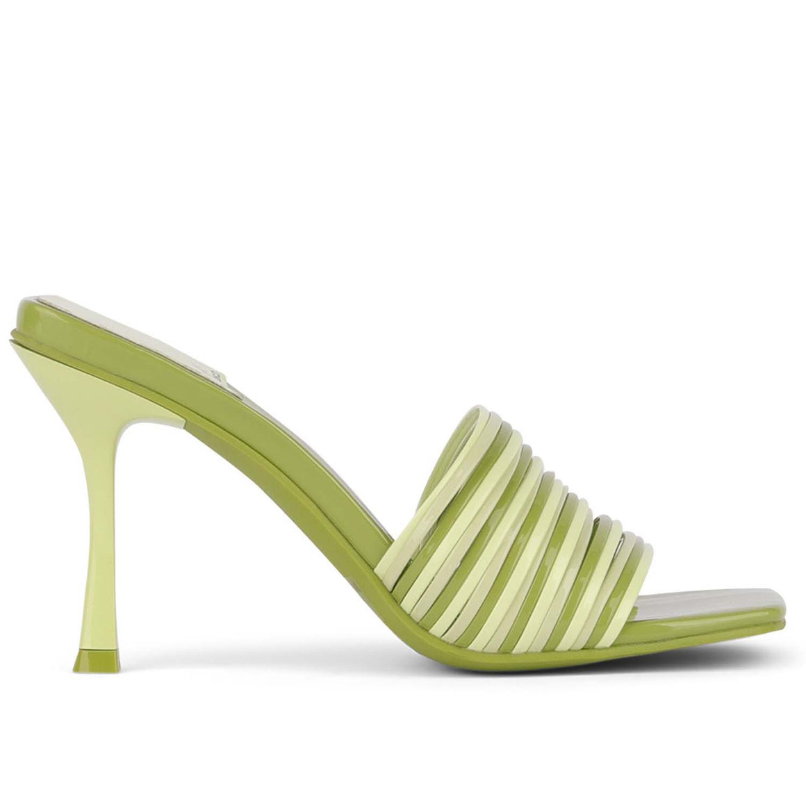 Jeffrey Campbell MORINE GREEN MULTI STRAP SANDALS