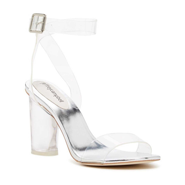 Jeffrey Campbell TWELVE SILVER HEELS