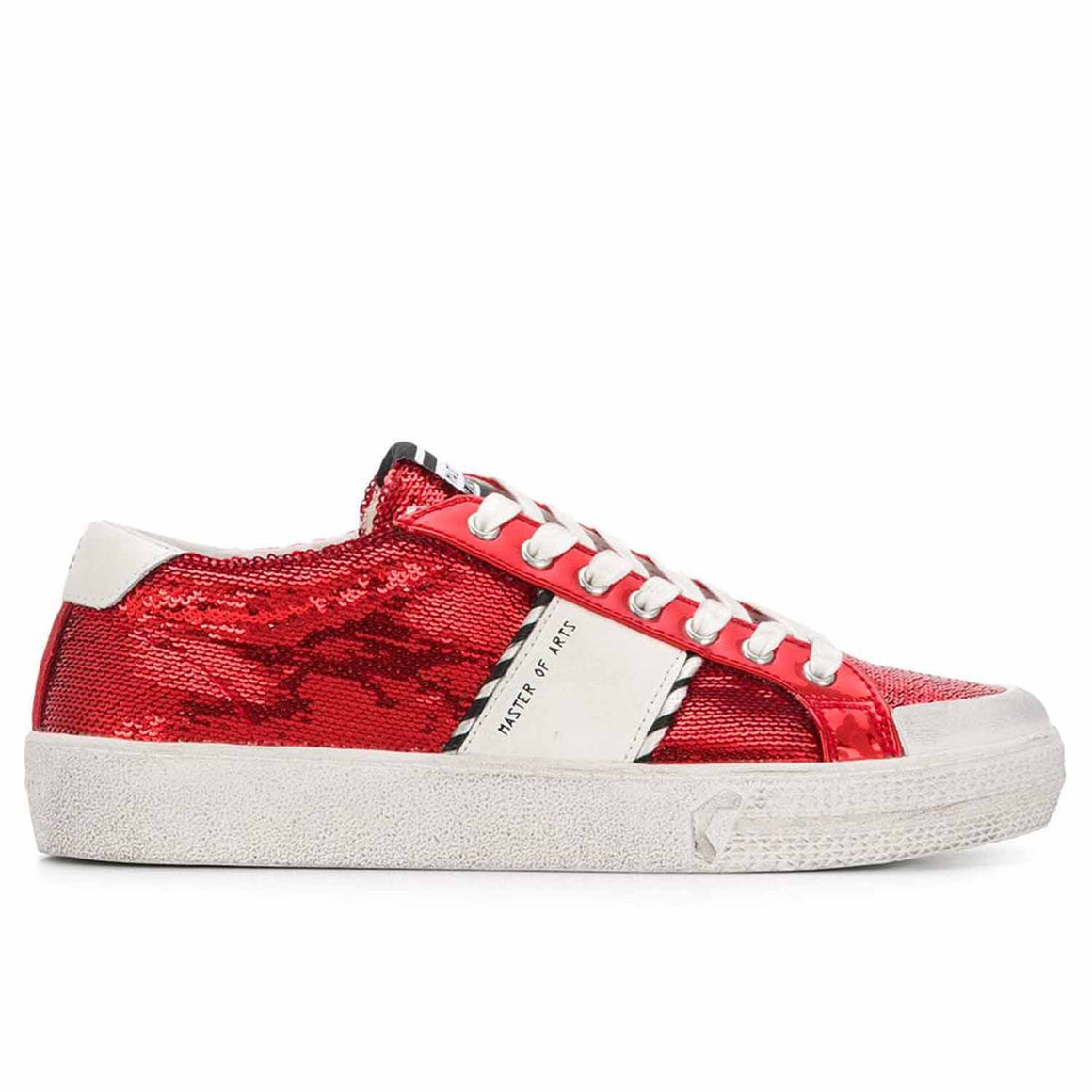 MOA MASTER OF ARTS sequin logo sneakers