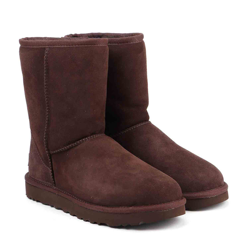 UGG BAILEY BUTTON BROWN