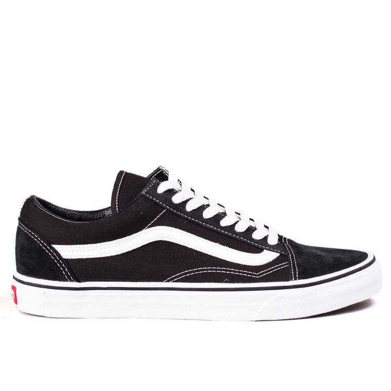VANS MEN OLD SKOOL BLACK / WHITE