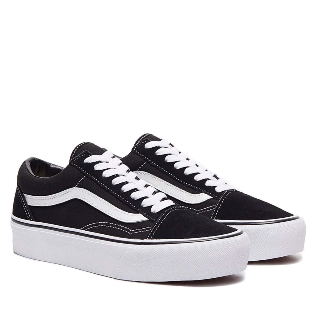 VANS OLD SKOOL BLACK / WHITE PLATFORM