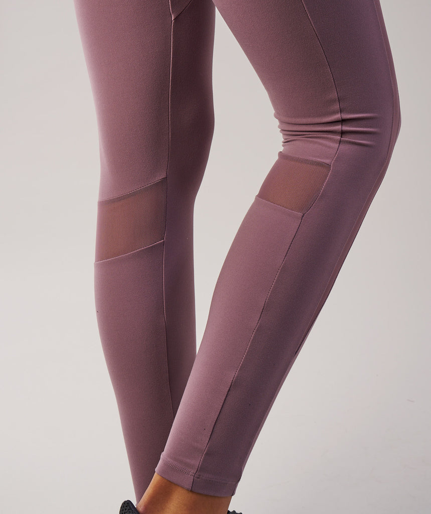 Sleek Aspire Leggings - Purple Wash