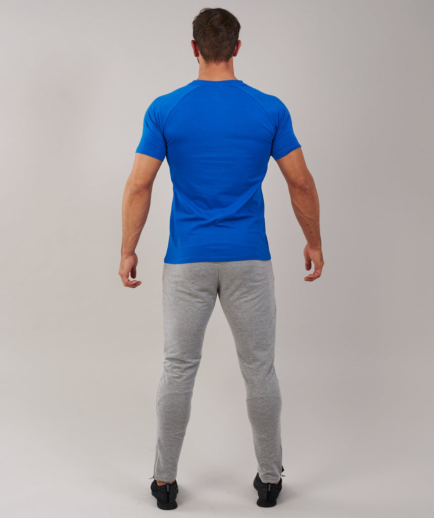Gymshark Apollo T-Shirt - Dive Blue/White 2