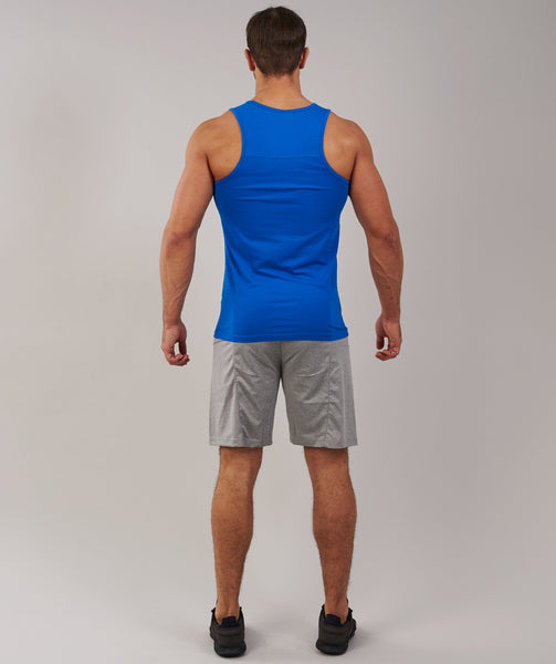 Gymshark Ion Tank - Dive Blue 1