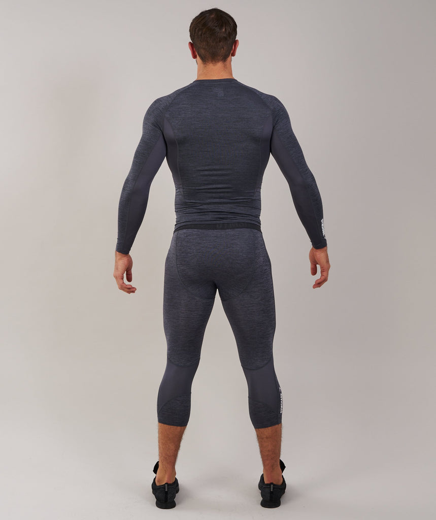 Gymshark Element Baselayer 3/4 Legging - Charcoal Marl 2