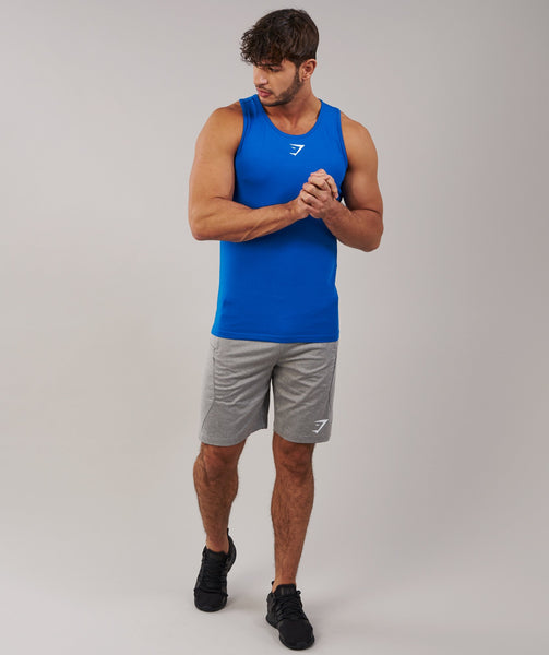 Gymshark Ion Tank - Dive Blue 3