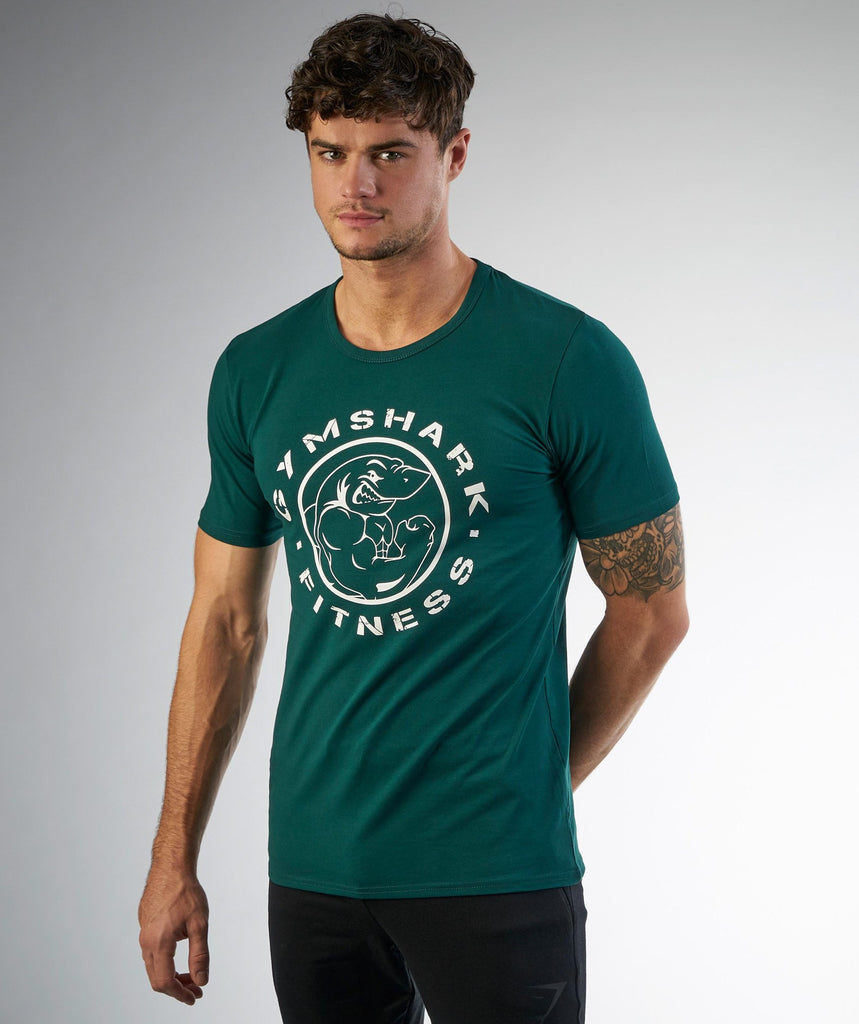 Gymshark Fitness T-Shirt - Forest Green 1