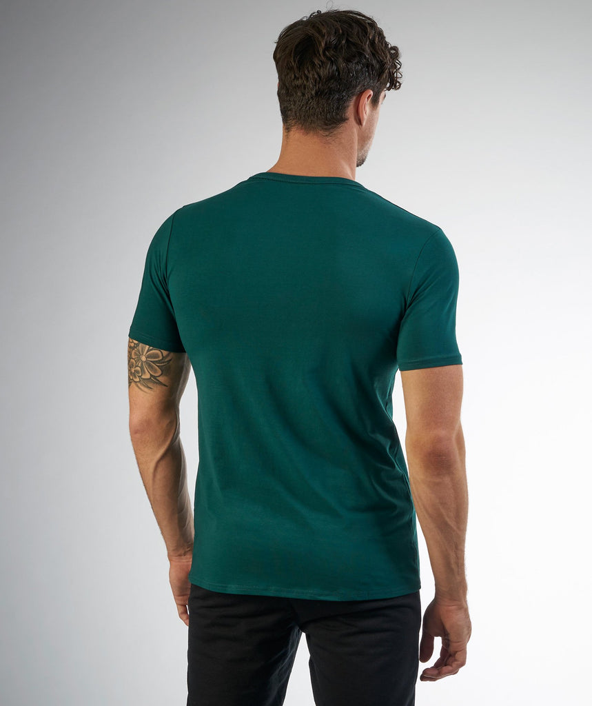 Gymshark Fitness T-Shirt - Forest Green 2