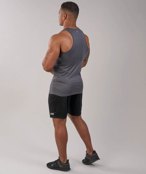 Gymshark Ability Tank - Charcoal 3