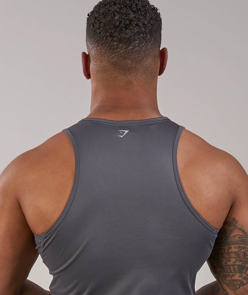 Gymshark Ability Tank - Charcoal 6