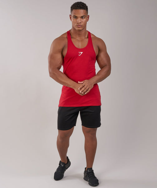 Gymshark Ion Stringer - Deep Red 4