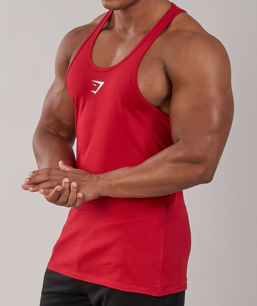 Gymshark Ion Stringer - Deep Red 6