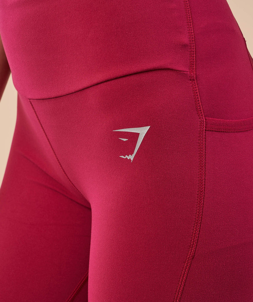Gymshark Aspire Leggings - Beet 6