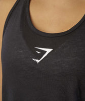 Gymshark Twist Back Vest - Black 11