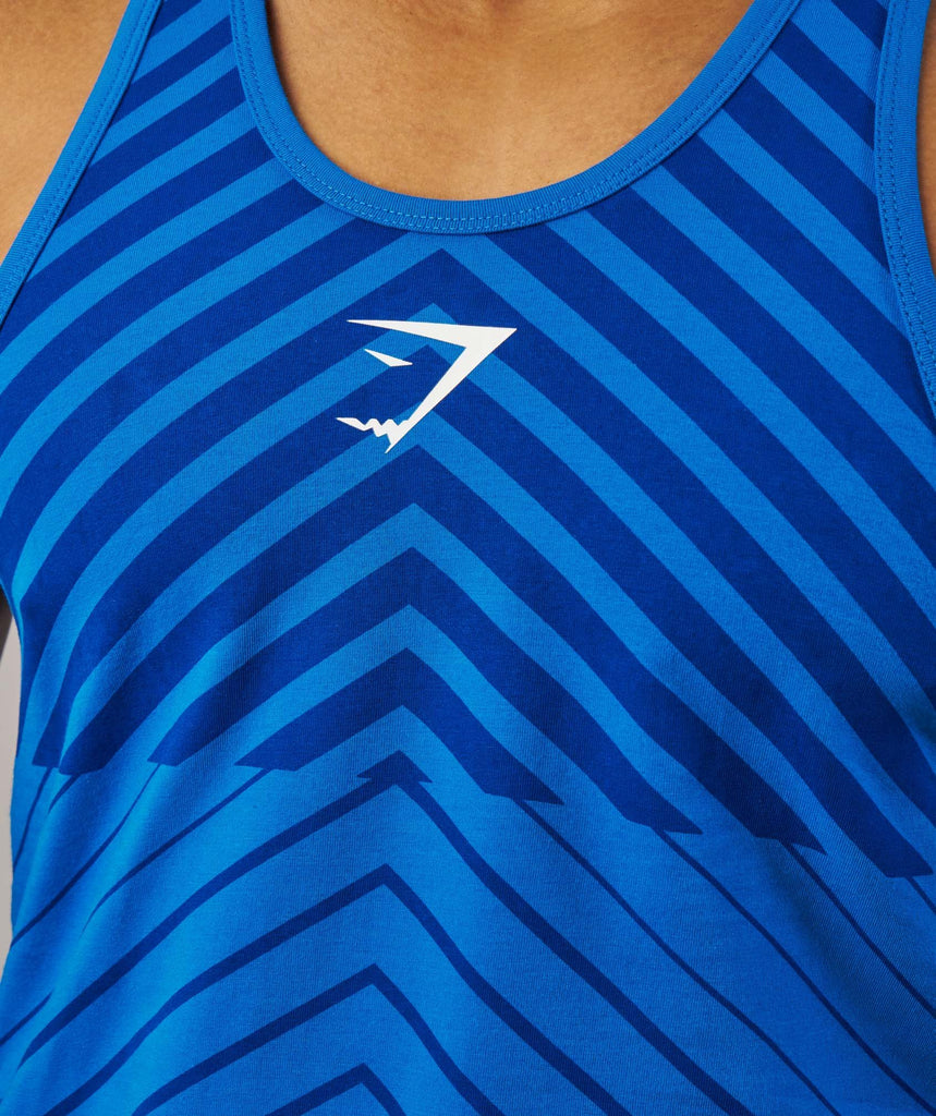 Gymshark Freestyle ION Stringer - Dive Blue 5