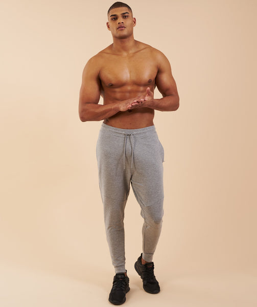 Gymshark Eaze Bottoms - Light Grey 3