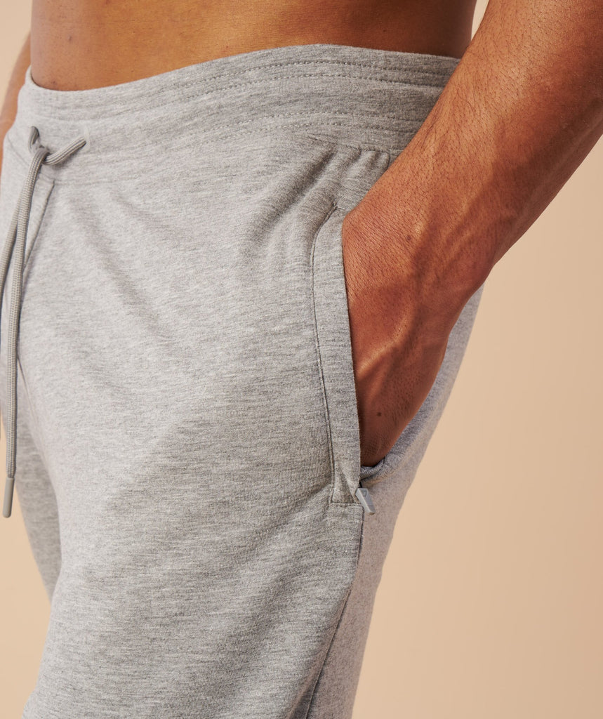 Gymshark Eaze Bottoms - Light Grey 5
