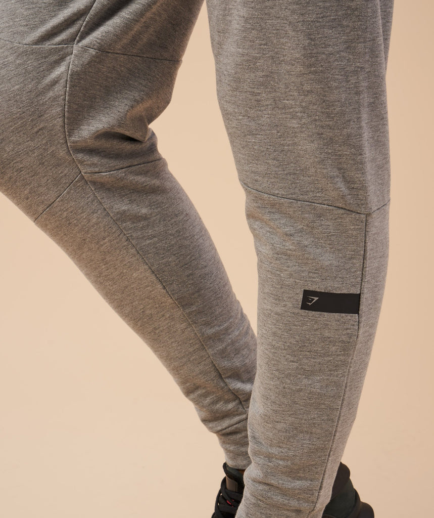Gymshark Eaze Bottoms - Light Grey 6