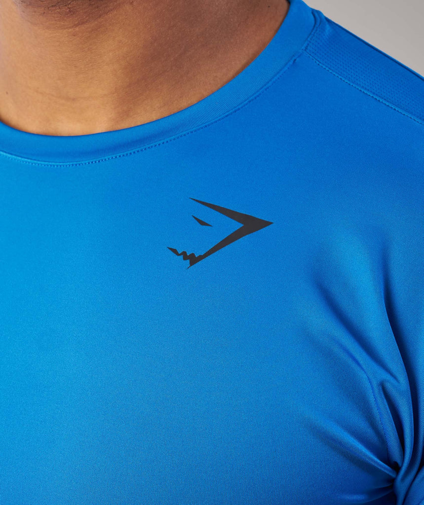 Gymshark Primary T-Shirt - Dive Blue 5