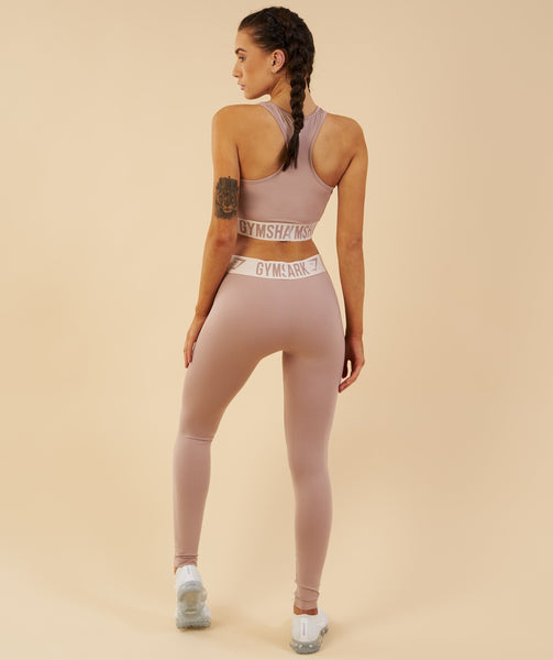Gymshark Fit Leggings - Taupe/Sand 3