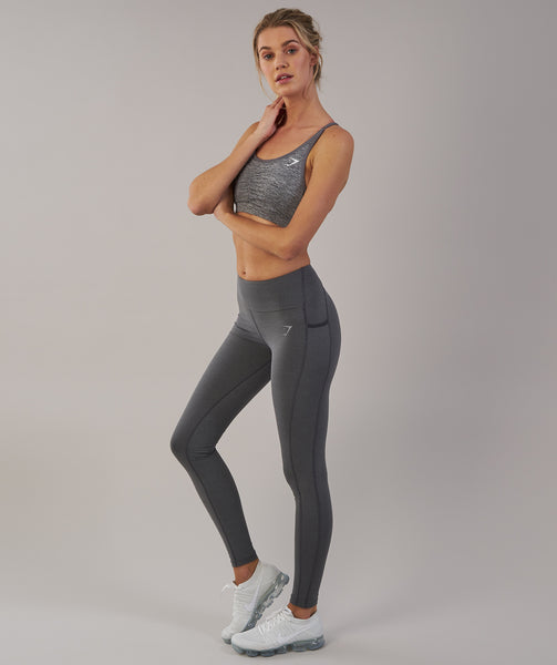 Gymshark Aspire Leggings - Charcoal Marl 4