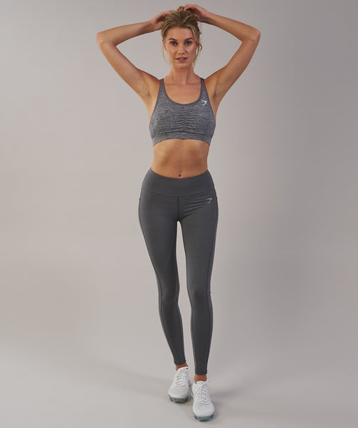 Gymshark Aspire Leggings - Charcoal Marl 3