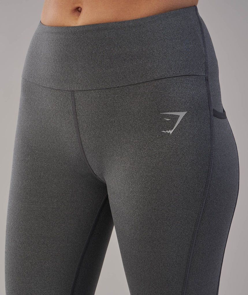 Gymshark Aspire Leggings - Charcoal Marl 5