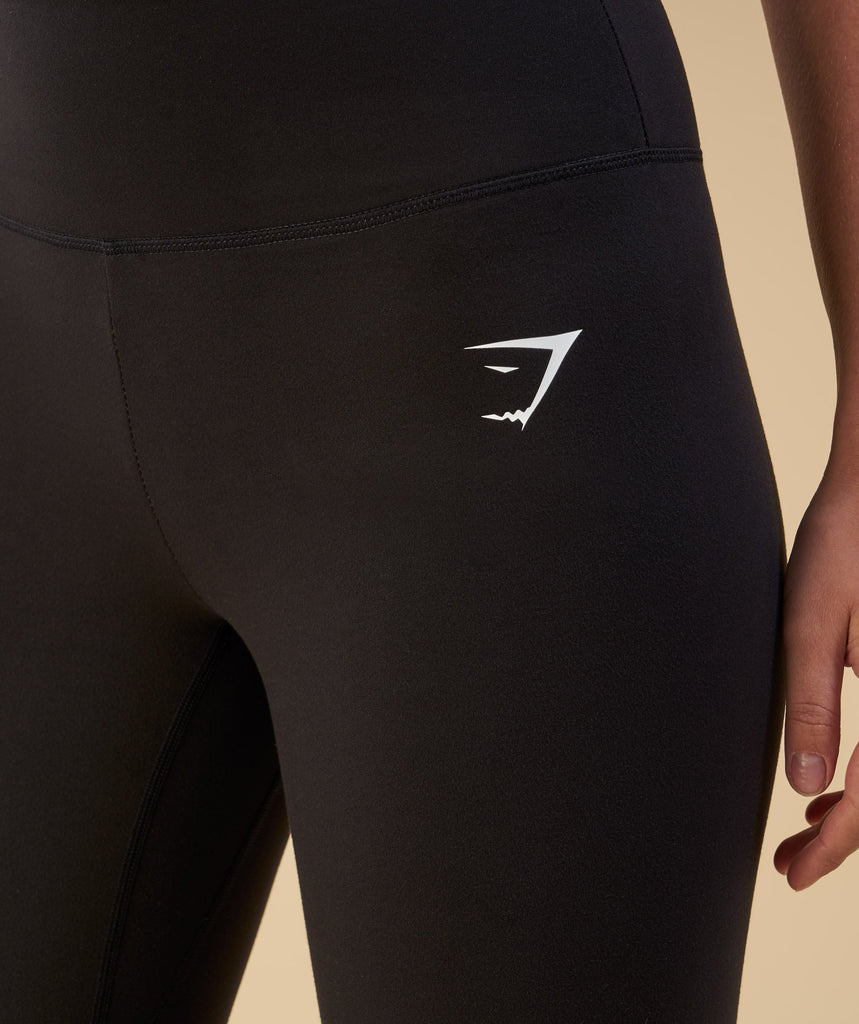 Gymshark Dreamy Cropped Leggings  - Black 5