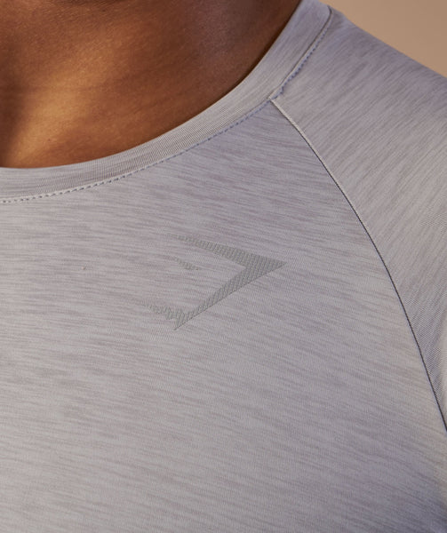 Gymshark Vertex T-Shirt - Light Grey 4