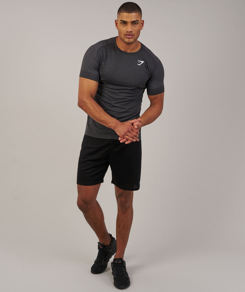 Gymshark Ghost T-Shirt - Black Marl 1