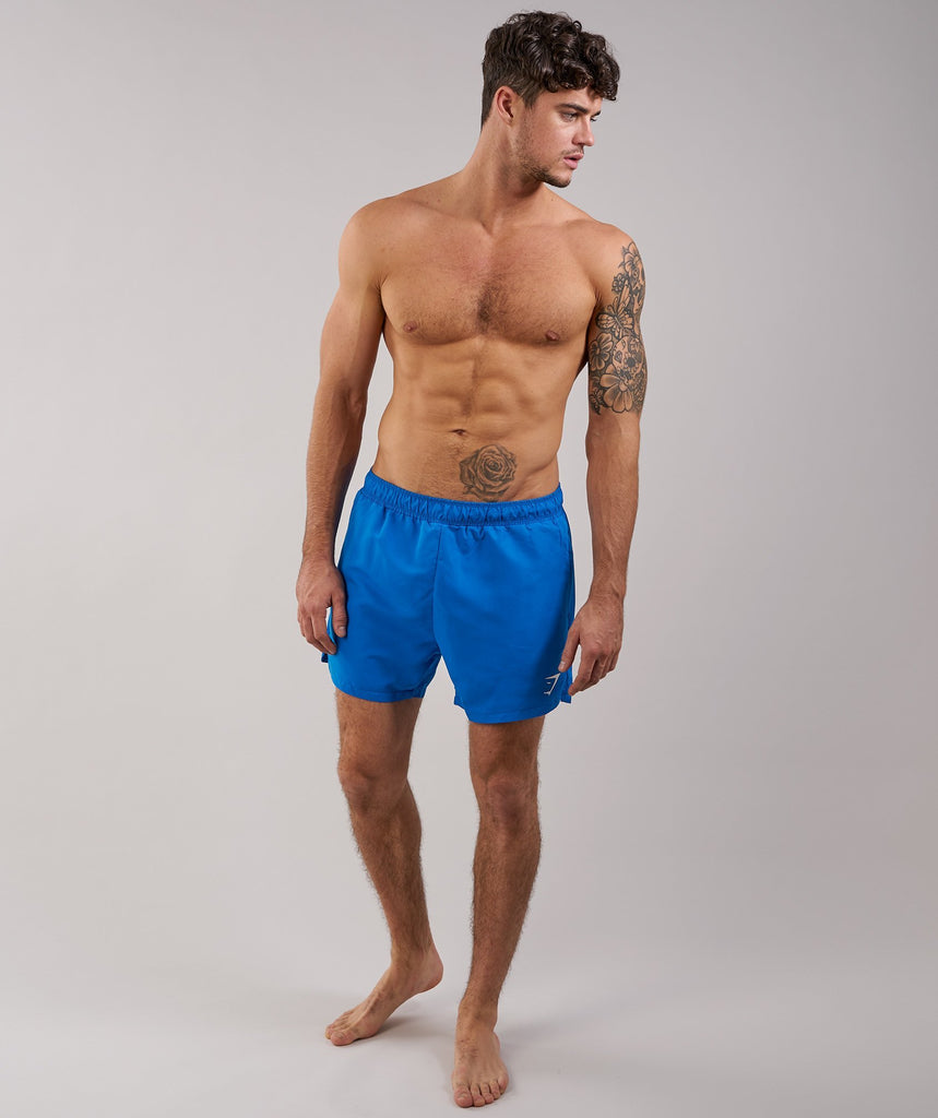 Gymshark Atlantic Swim Shorts - Dive Blue 1