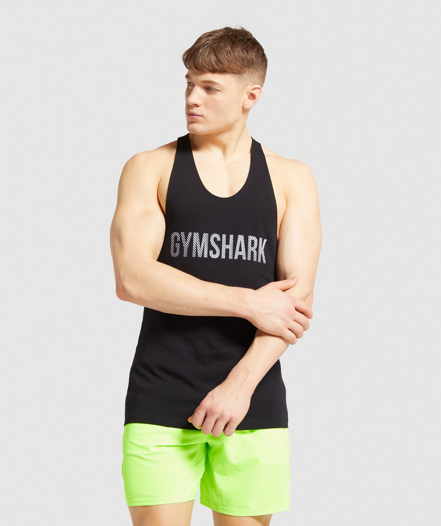 Gymshark Apex Stringer - Black 1
