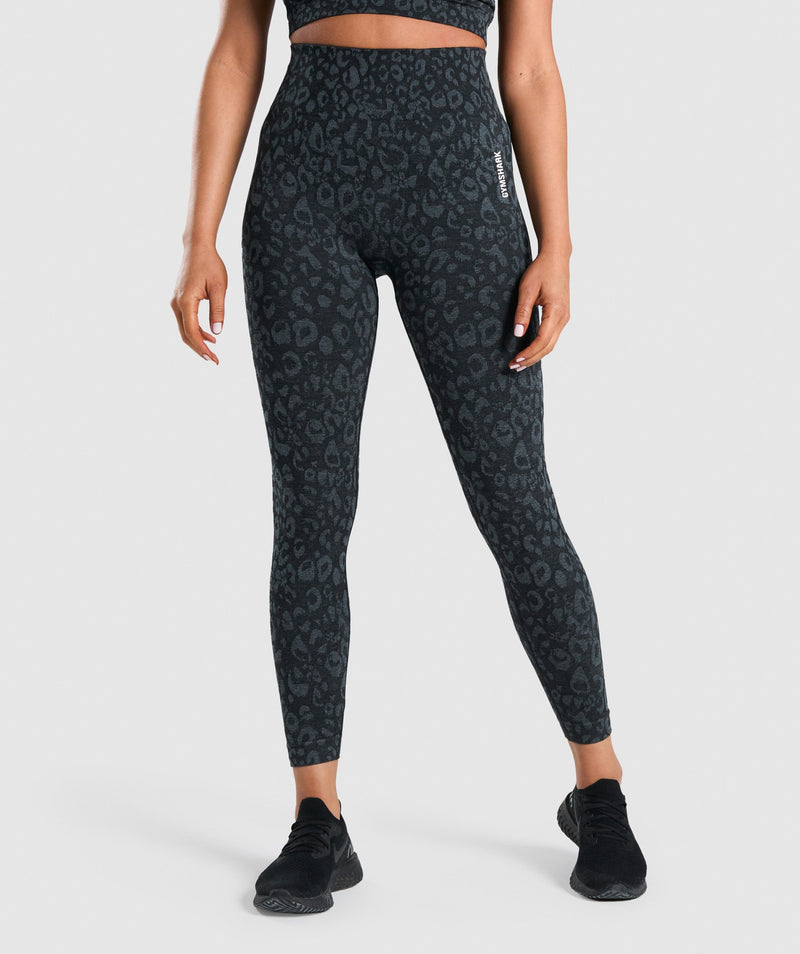 Gymshark Adapt Animal Seamless Leggings - Black