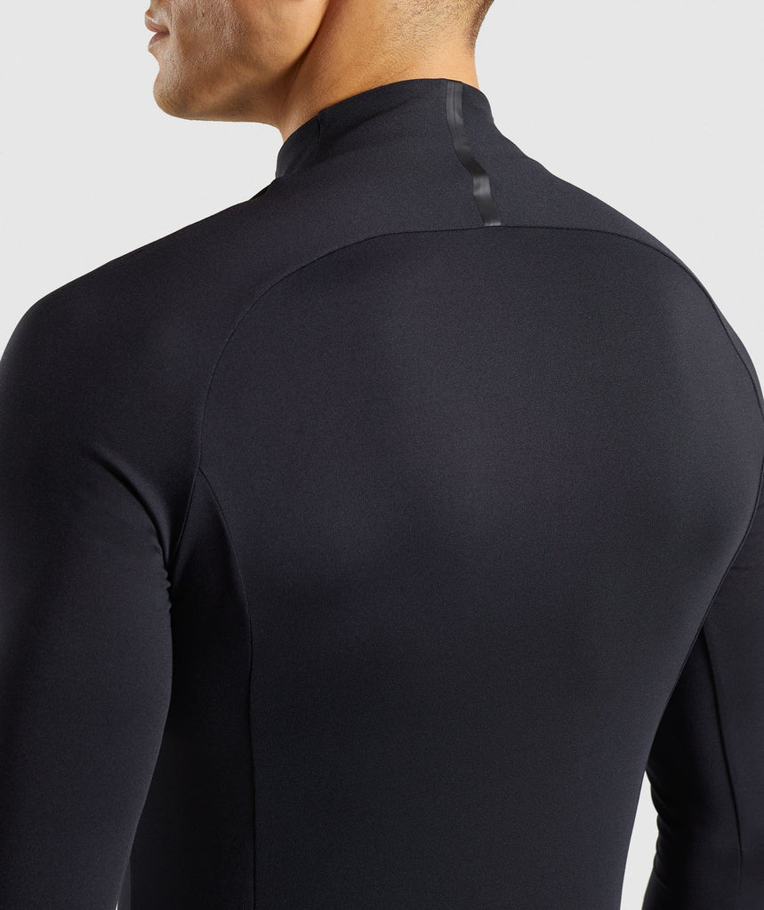 Gymshark Advanced 1/4 Zip Pullover - Black 6