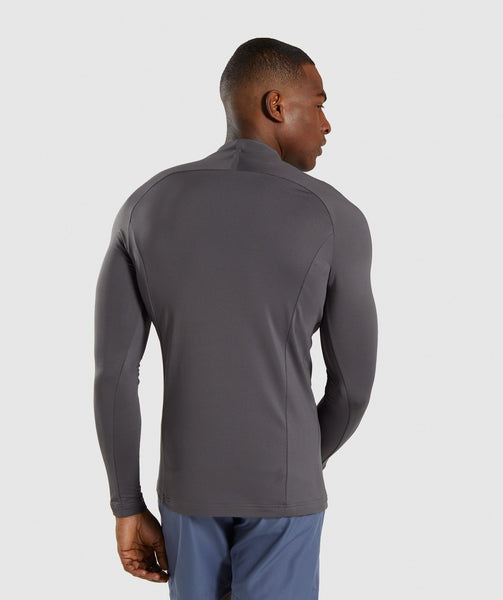 Gymshark Advanced 1/4 Zip Pullover - Charcoal 1