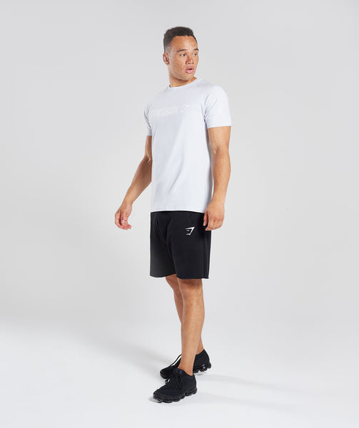 Gymshark Apollo T-Shirt - Clear Water/White 4