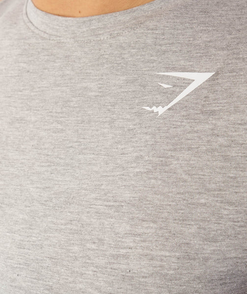 Gymshark Ark T-Shirt - Light Grey Marl