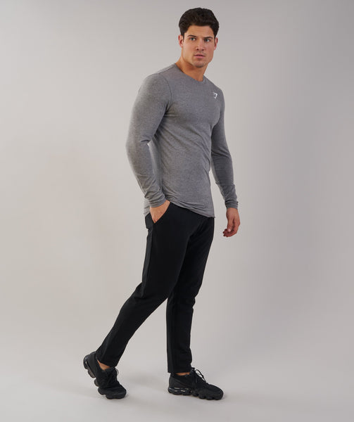 Gymshark Ark Long Sleeve T-Shirt - Slate Marl 2