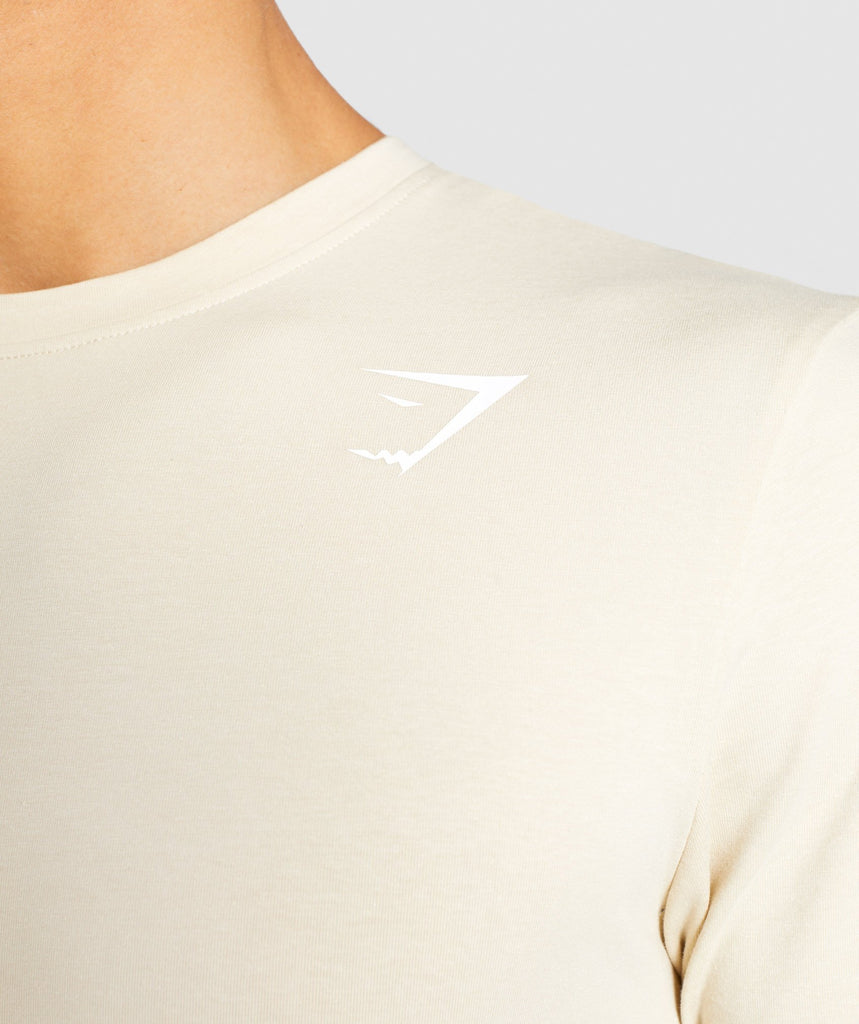 Gymshark Ark Long Sleeve T-Shirt - Warm Beige 5