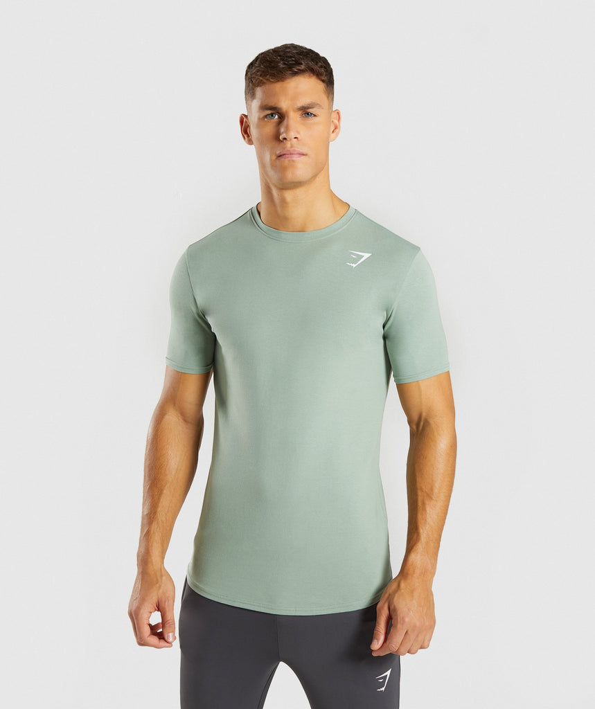 Gymshark Ark T-Shirt - Pale Green 1