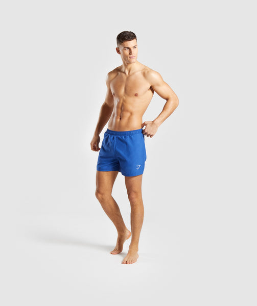Gymshark Atlantic Swim Shorts - Blue 3
