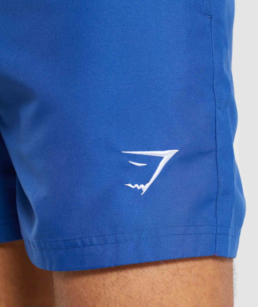 Gymshark Atlantic Swim Shorts - Blue 5