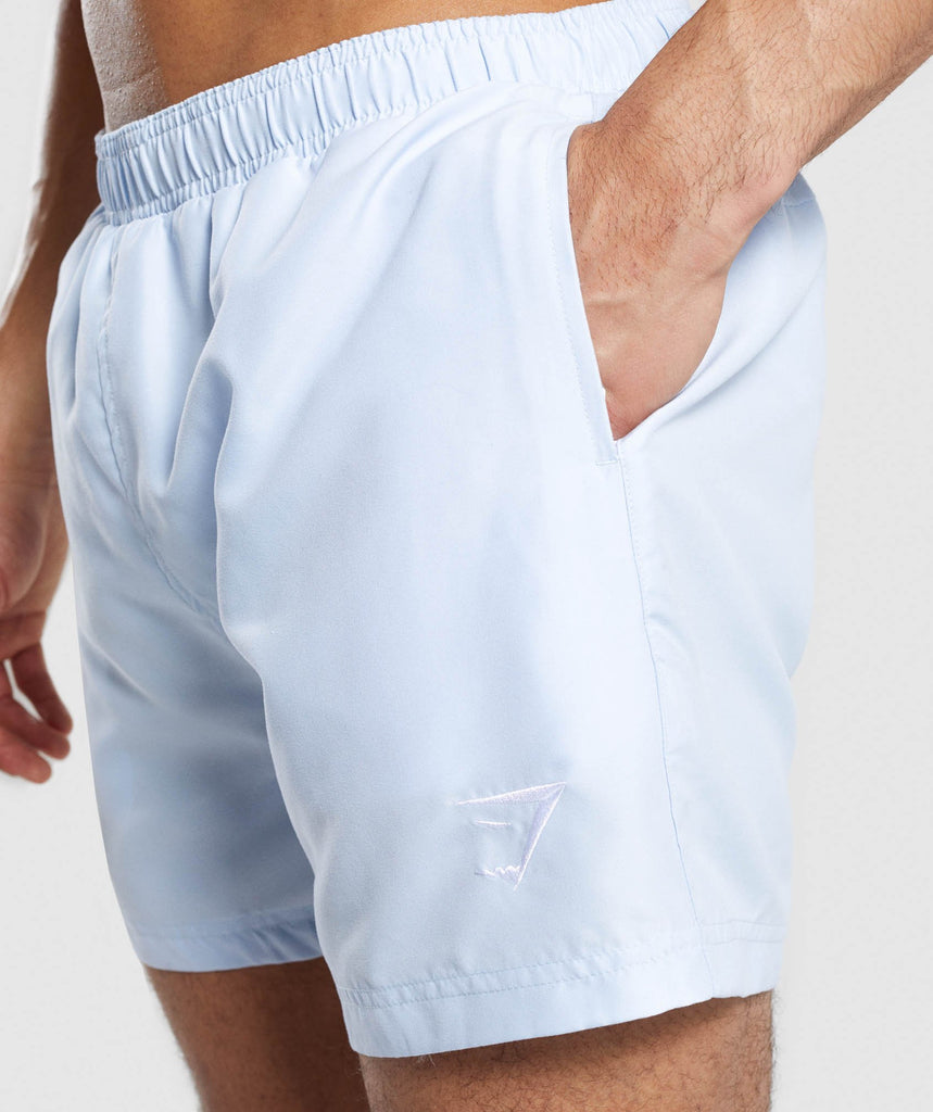 Gymshark Atlantic Swim Shorts - Light Blue 5