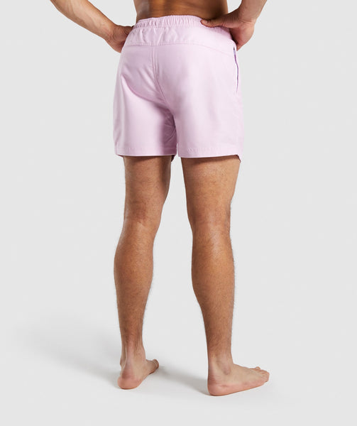Gymshark Atlantic Swim Shorts - Pink 1