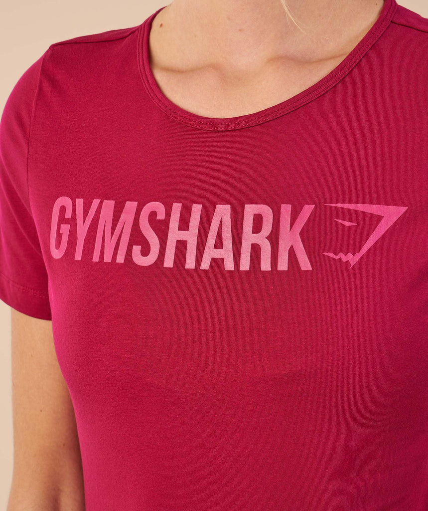 Gymshark Apollo T-Shirt - Beet 6