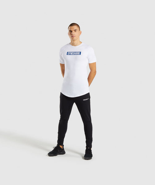 Gymshark Block T-Shirt - White 2