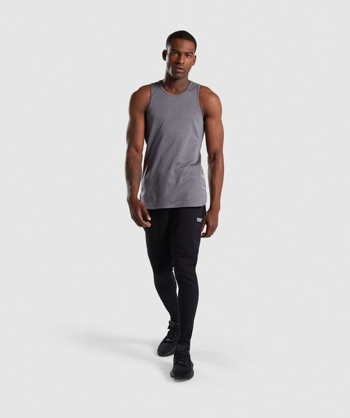 Gymshark Breathe Tank - Smokey Grey Marl 3
