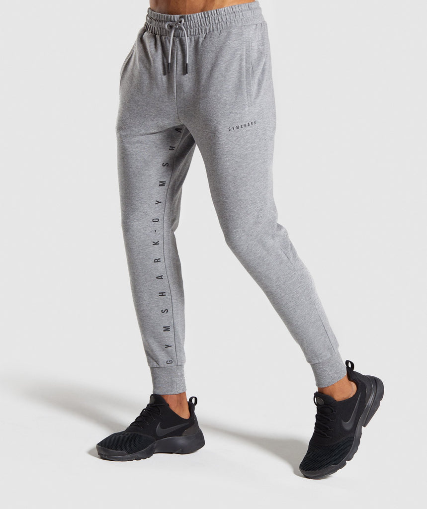 Gymshark Contrast Joggers - Grey 1